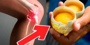 Como usar 2 huevos para desaparecer el dolor de rodillas por completo y reparar las articulaciones